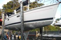 boat sandblasting